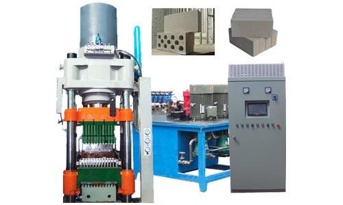 600T hydraulic press bricks machine