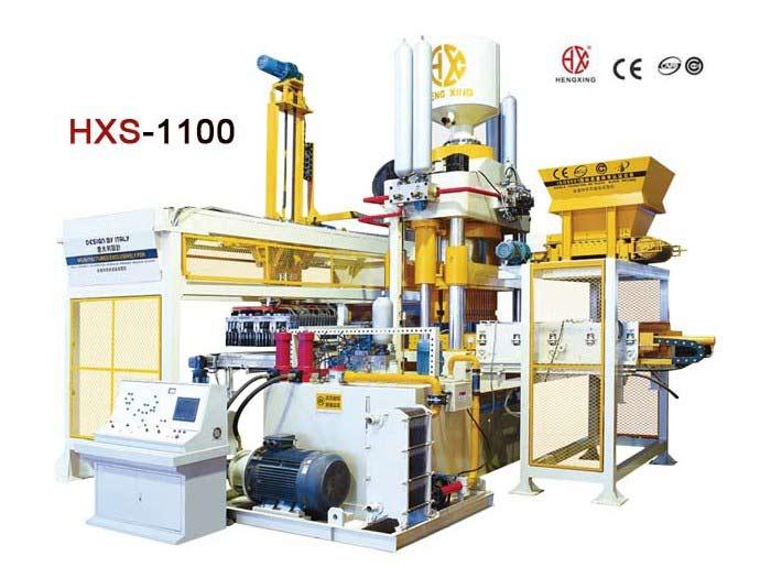 HXS1100 Hydraulic Pressure Block Machine