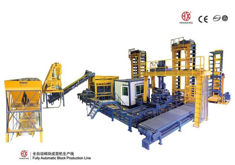 Full Automatic block making machine