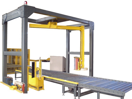 cement brick automatic winding packer