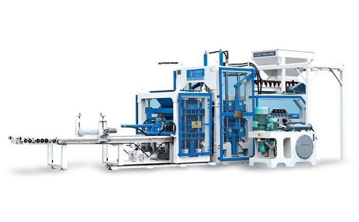 HongYi QT10-15 Automatic Block Machine