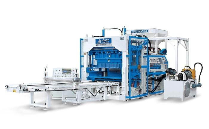 Hongyi QT12-15 Automatic Block Making Machine