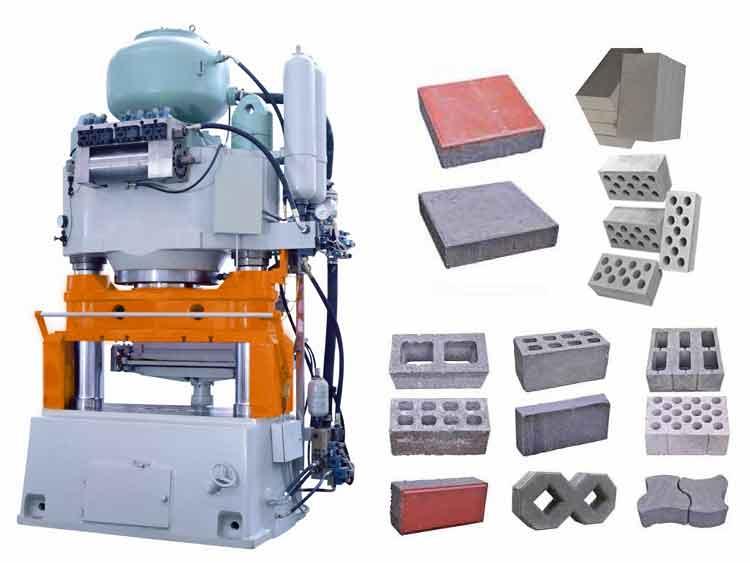 YP600 block press making machine