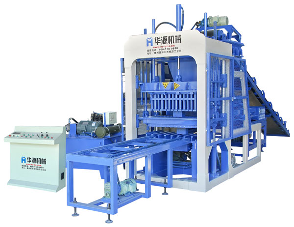 Huayuan QT4-15 Full Automatic Concrete Block Making Machine
