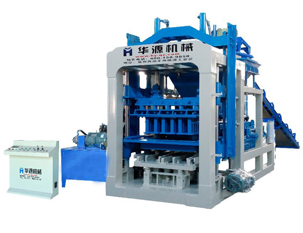 QT5-15 Full Automatic Concrete Block Making Machine