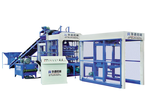 Huayuan QT6-15 Full Automatic Concrete Block Making Machine
