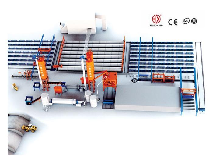 AAC block machine China Autoclaved Aerated Concrete Block Machine Suppliers